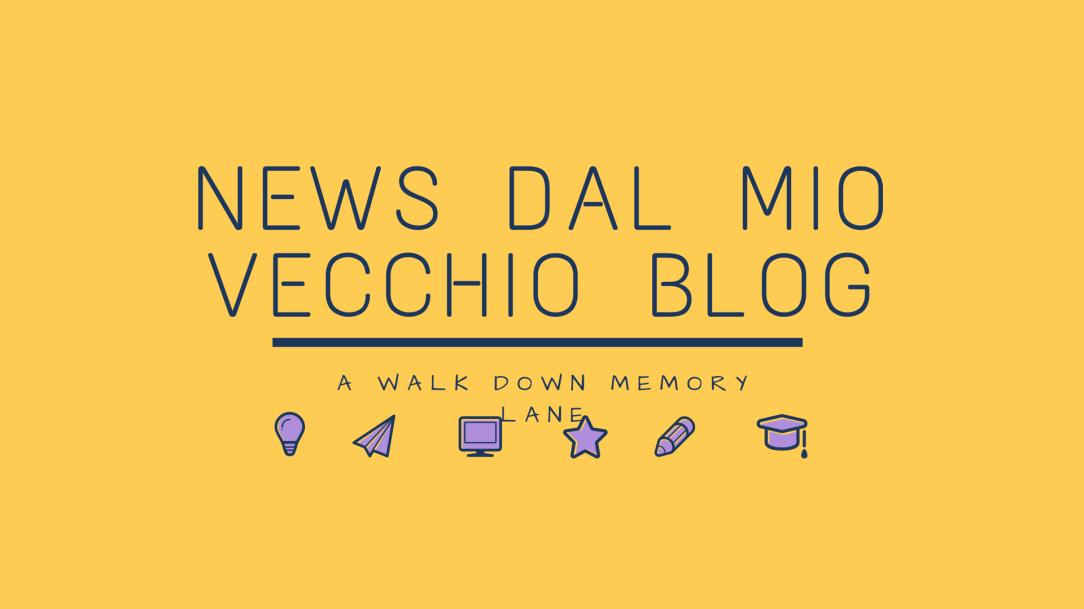 news dal mio vecchio blog