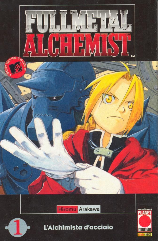fma manga cover italian edition