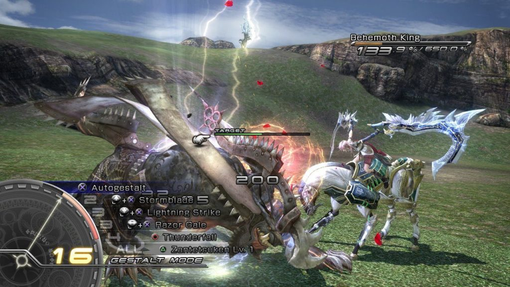 ffxiii battle screen