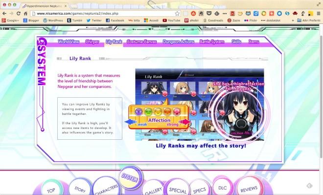 neptunia mk2 - lily rank