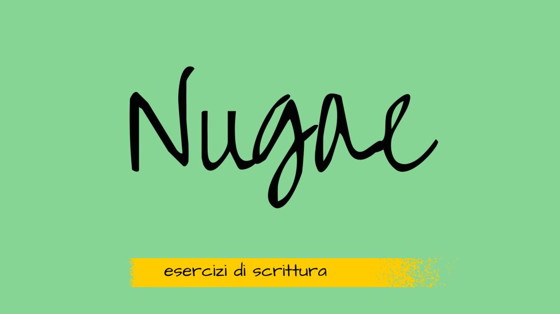 nugae esercizi di scrittura