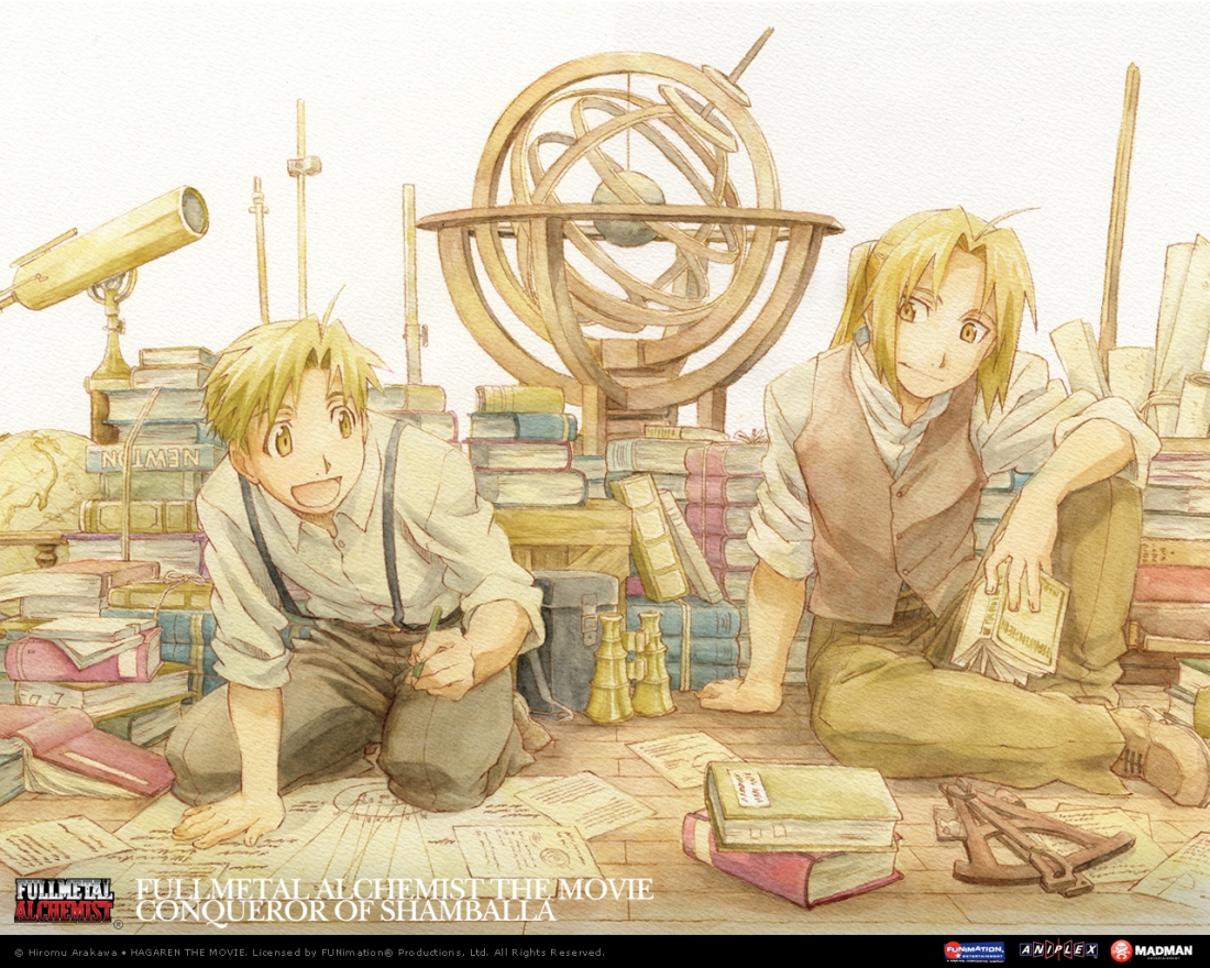 fma manga wallpaper