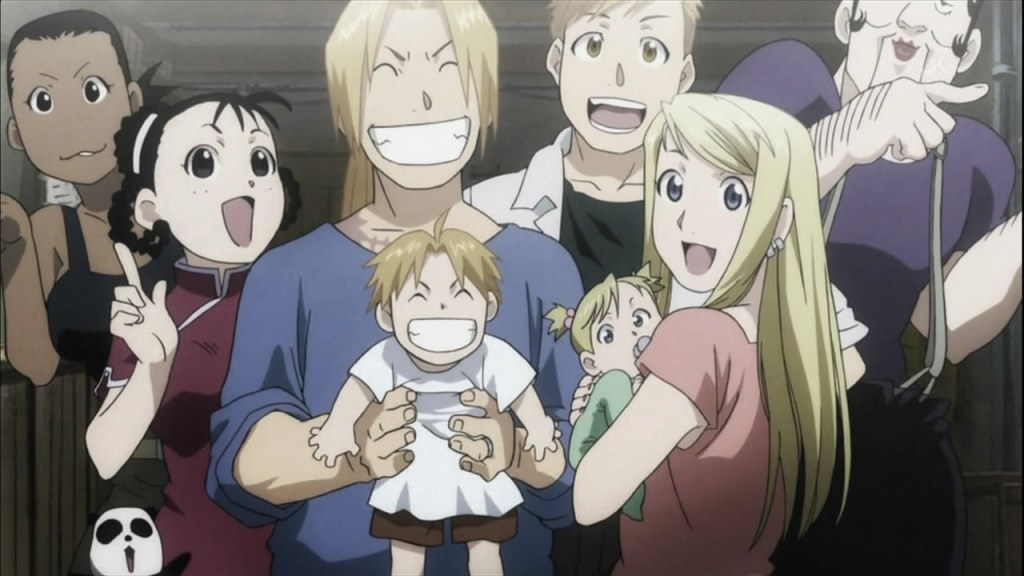 the end fma brothers