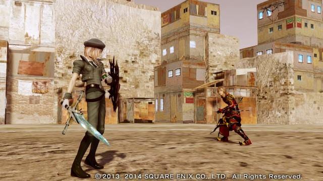 LRFFX13 battle