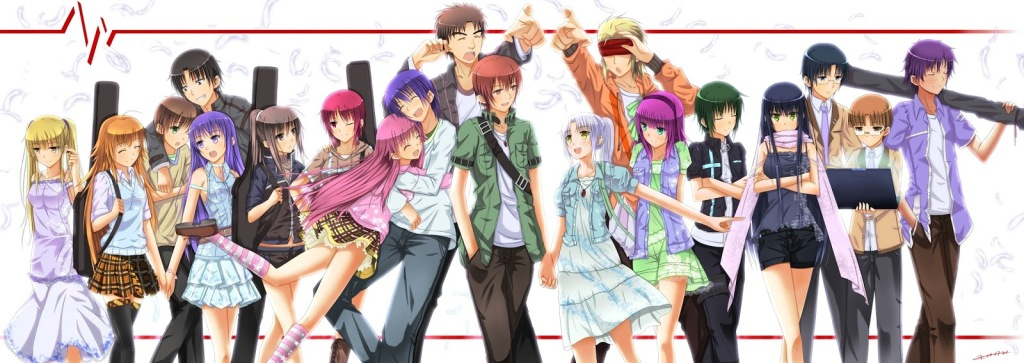 angel beats! cast