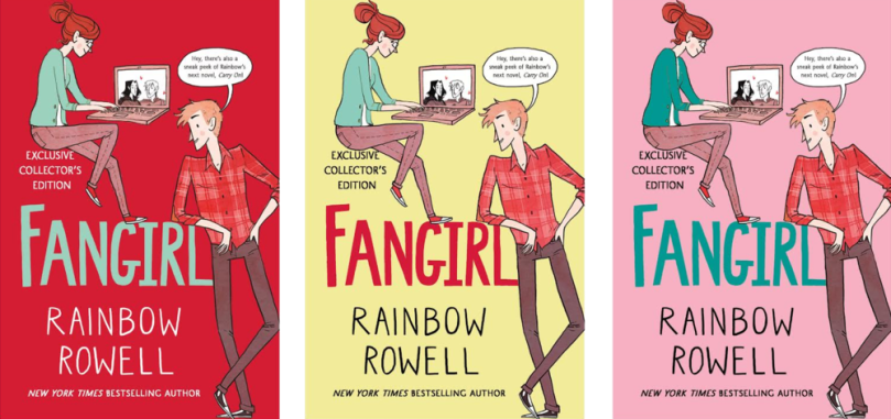 fangirl cover special ed