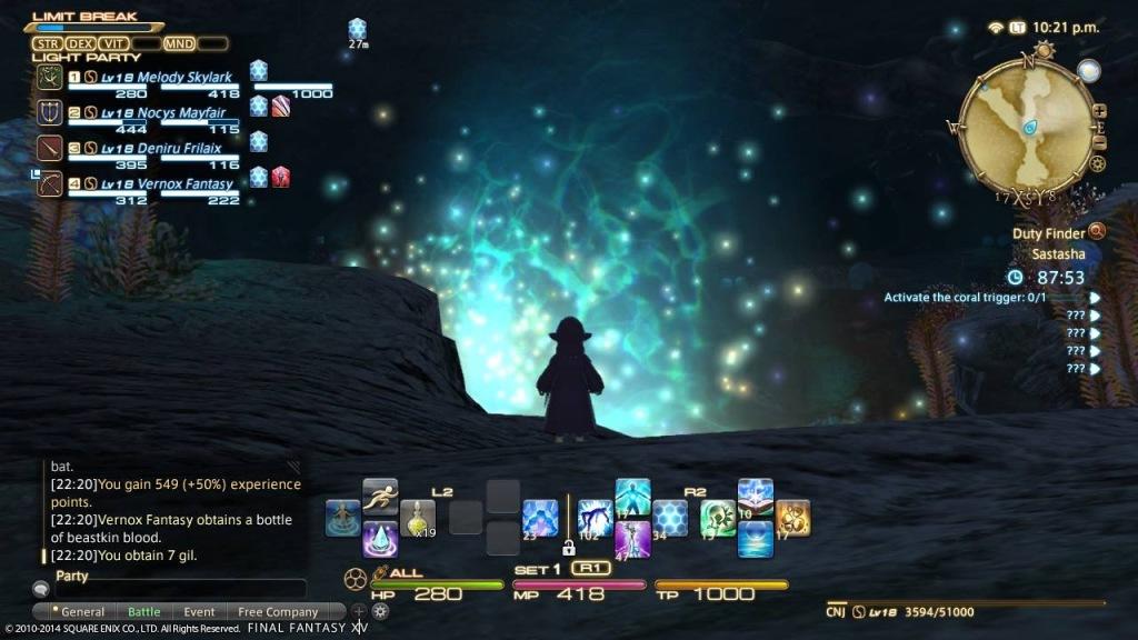 screenshot da ffxiv