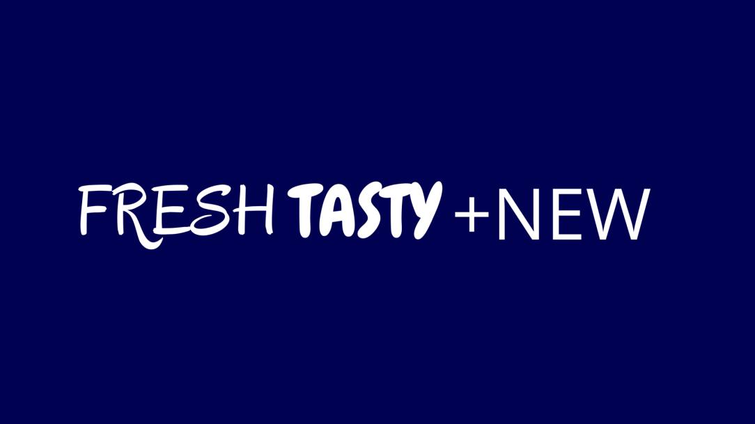 Fresh Tasty New