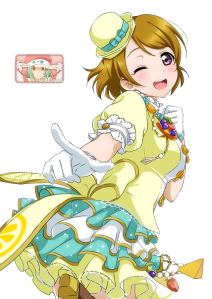 hanayo koizumoi from love live