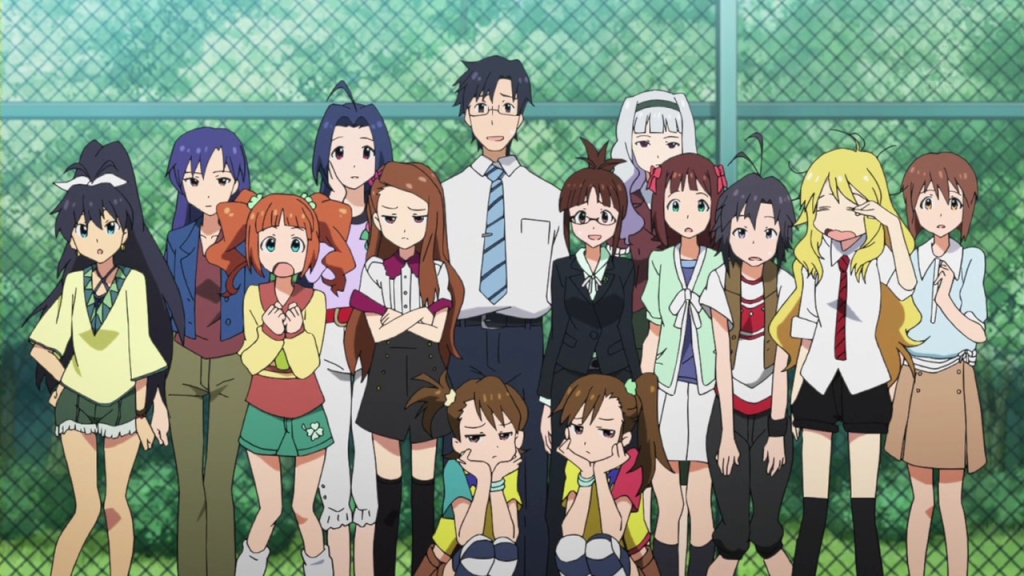 idolmaster - the girls and the producer