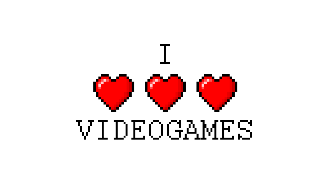 I love videogames wallpaper