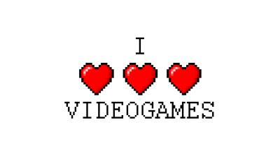 I love videogames wallpaper