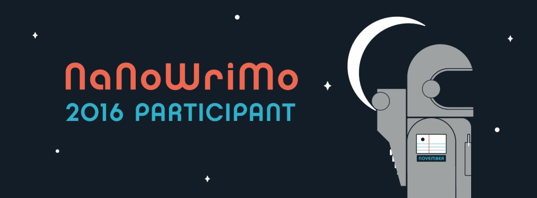 nanowrimo participant 2016