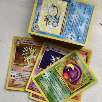 carte pokemon old deck