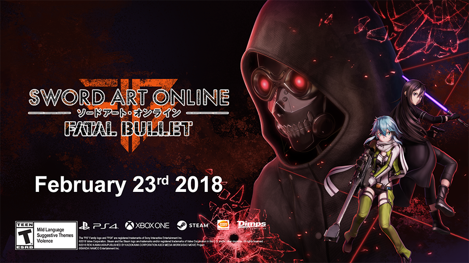 sword art online fatal bullet promo pic
